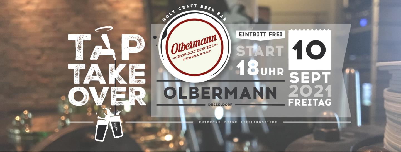Tap Takeover Olbermann Brauerei