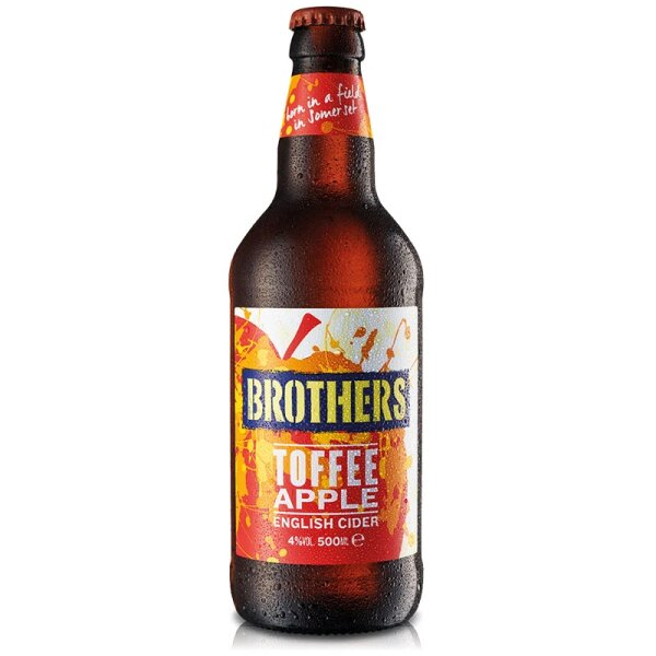 Brothers Toffee Apple Cider 0,5l