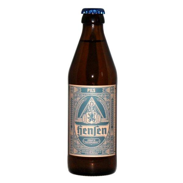 Hensen-Brauerei Pils 0,33l
